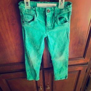 Cotton On Kids We love color Jeans Sz 4